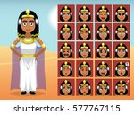 egypt cleopatra cartoon emotion ...