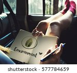 ecology environment save earth... | Shutterstock . vector #577784659