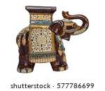 Ceramic Elephant From India On...
