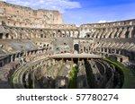 Inside The Coliseum Of Rome...