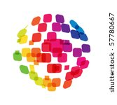 abstract network concept | Shutterstock .eps vector #57780667