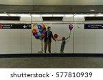 new york city   february 11 ... | Shutterstock . vector #577810939