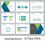 presentation background design... | Shutterstock .eps vector #577817995
