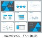 presentation background design... | Shutterstock .eps vector #577818031
