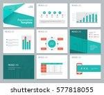 presentation background design... | Shutterstock .eps vector #577818055