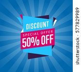 special discount sticker...   Shutterstock .eps vector #577829989