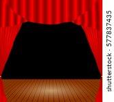 cartoon theater. theater...   Shutterstock .eps vector #577837435