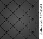 seamless vector dark pattern....   Shutterstock .eps vector #577840681