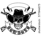 vector illustration skull in...   Shutterstock .eps vector #577846075
