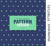 Blue Polka Dots Pattern...