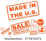 made in the u.s. text rubber... | Shutterstock .eps vector #577876471