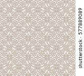 vintage lace background ... | Shutterstock .eps vector #577889089