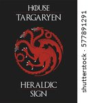 House Targaryen Heraldic Sign ...