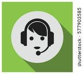 call center vector icon | Shutterstock .eps vector #577903585
