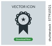 badge vector icon | Shutterstock .eps vector #577910521