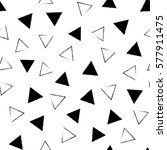 black and white grunge abstract ...   Shutterstock .eps vector #577911475