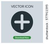 add vector icon | Shutterstock .eps vector #577911595