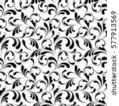 vector flowery pattern....   Shutterstock .eps vector #577913569