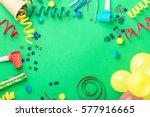 frame from various celebratory... | Shutterstock . vector #577916665