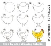 kid game to develop drawing...   Shutterstock .eps vector #577931221