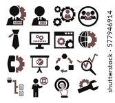 system  user  administrator... | Shutterstock .eps vector #577946914