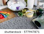 cooking bakery equipment and... | Shutterstock . vector #577947871