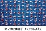 sea party 3d illustration  | Shutterstock . vector #577951669