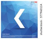 back icon | Shutterstock .eps vector #577960114