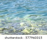 Small photo of Transparent water of the Adriatic coast