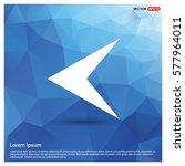 back icon | Shutterstock .eps vector #577964011