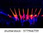 atmosphere at the concert | Shutterstock . vector #577966759