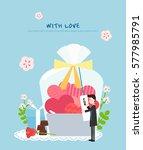 love illustration | Shutterstock .eps vector #577985791