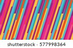 vertical strips colorful... | Shutterstock .eps vector #577998364