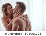 close up of naked lovers... | Shutterstock . vector #578001325