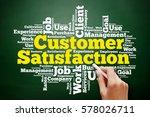 customer satisfaction word... | Shutterstock . vector #578026711