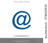 email vector icon   Shutterstock .eps vector #578033935