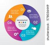 vector circle arrows for... | Shutterstock .eps vector #578036449