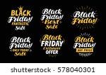 black friday  sale symbol.... | Shutterstock .eps vector #578040301