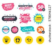 sale shopping banners. special...   Shutterstock .eps vector #578046127