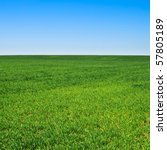 beautiful landscape  clean blue ... | Shutterstock . vector #57805189