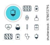vector illustration of 12... | Shutterstock .eps vector #578072791