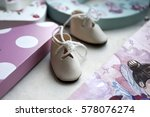 doll baby shoes.   Shutterstock . vector #578076274