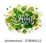 vector illustration of saint... | Shutterstock .eps vector #578080111