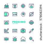 search engine optimization... | Shutterstock .eps vector #578082394
