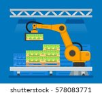 vector illustration of... | Shutterstock .eps vector #578083771