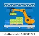 vector illustration of... | Shutterstock .eps vector #578083771