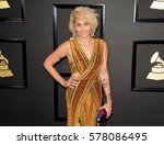 paris jackson at the 59th... | Shutterstock . vector #578086495