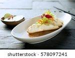 creative fine dining fish dish... | Shutterstock . vector #578097241