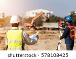 Civil Engineers At Constructio...