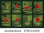 set of banners. translation... | Shutterstock .eps vector #578112454